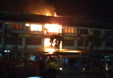 เพลิงไหม้ตึกในสถานี บขส.สาเหตุรอพิสูจน์