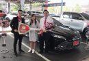 คันแรก ส่องมอบรถแล้ว All new Camry ค่ายโตโยต้า ฮั้วเฮงหลี